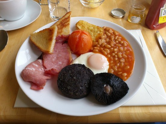 Coast B&B: Full English.....YUM !!