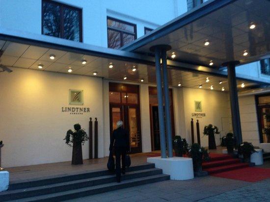 Privathotel Lindtner Hamburg : Eingang