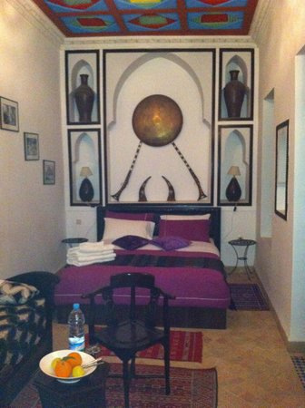 Riad Tamarrakecht: our lovely room