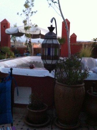 Riad Tamarrakecht: roof terrace