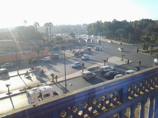 Riad Mogador: vista dal balcone