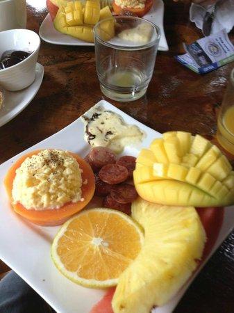 Hotel Blue Conga : Breakfast!