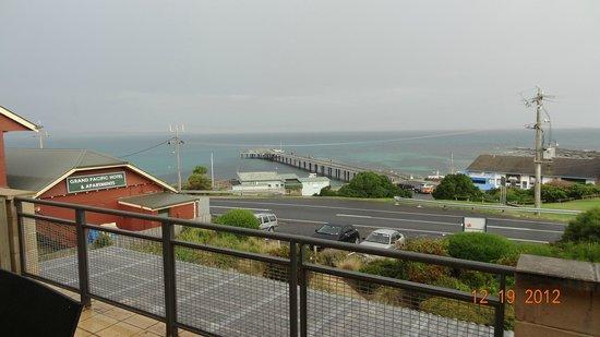 Grand Pacific Hotel Lorne: zicht op de Great Ocean Road