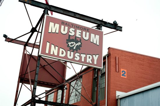 Baltimore Museum of Industry: Museum Entrance