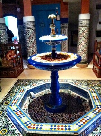 Moroccan House Hotel: foyer