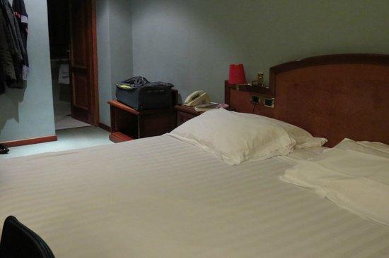 Hotel Rex: the bedroom