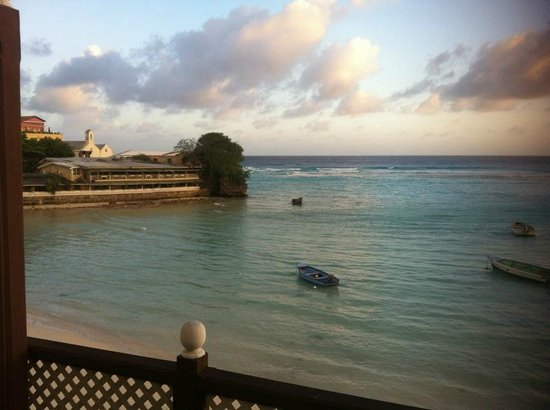 Little Bay Hotel : View from Room 102