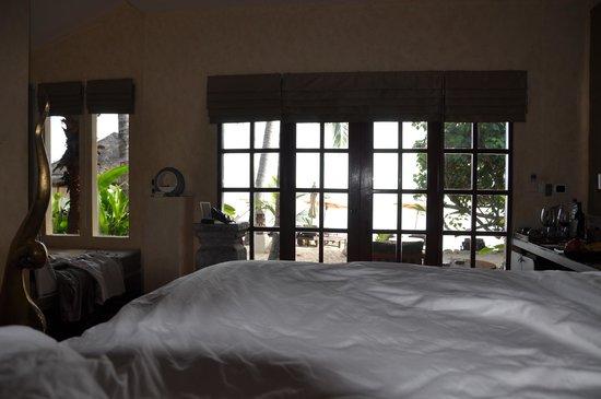 Zazen Boutique Resort & Spa: Vue de notre lit