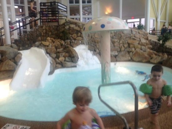 Steele Hill Resorts : Kiddie Pool and Slide