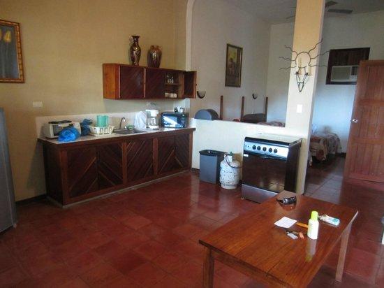 Hotel Villas El Parque: Küche