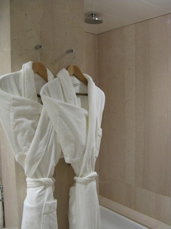 Grand Hotel Kempinski Geneva: shower