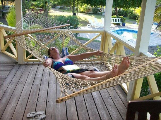 Antigua's Yepton Estate Cottages: Ahhh... the hammock