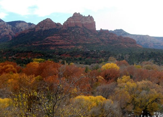 La Petite Sedona: View from motel