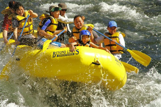 Lotus, CA: The South Fork is the most popular rafting river in the west!