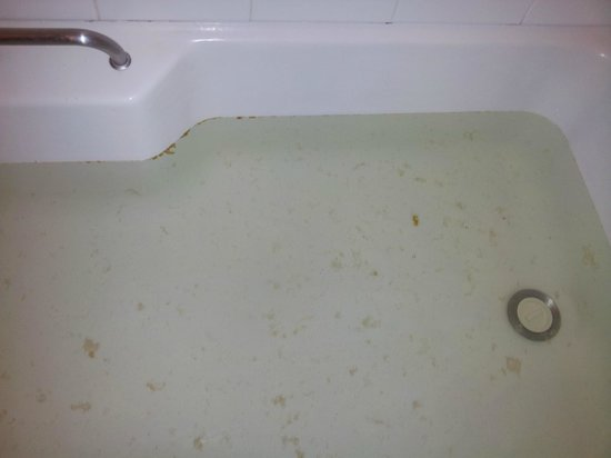 Quality Hotel Hobart Midcity: Dirty Bath