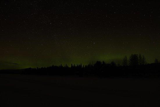 Fell Trek Rauhala: aurora boreale