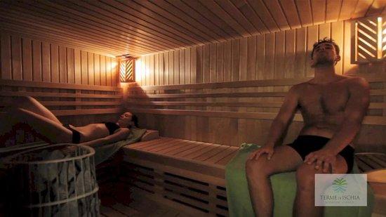 Ischia Porto, Italia: Sauna Finlandese