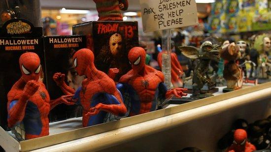 Grand Slam New York: Spiderman