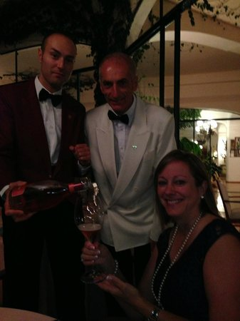 Il San Pietro di Positano: Our wonderful Gentlemanly Server, (I think his name was 'Pepe')