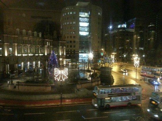 The Queens - Leeds: view from room