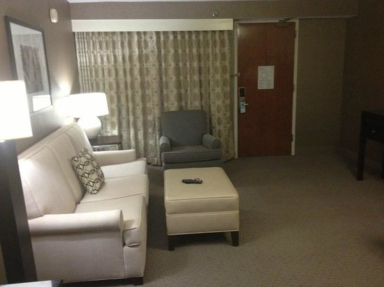 Sheraton Chicago O'Hare Airport Hotel: Suite