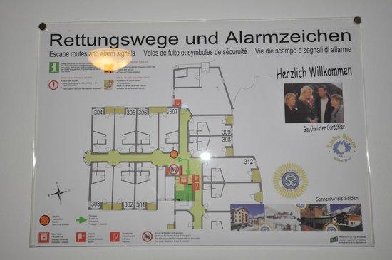 Hotel Liebe Sonne: Floorplan