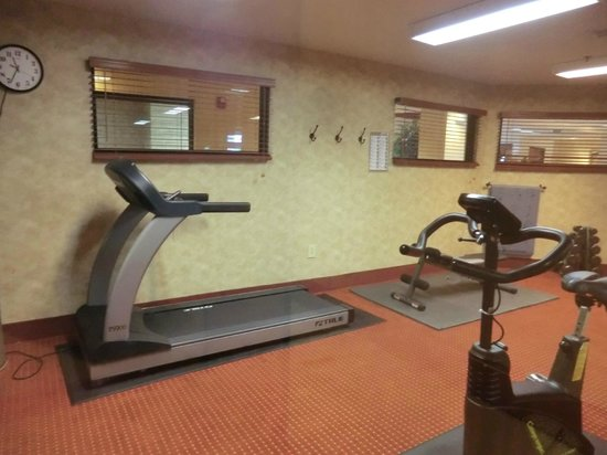 Wingate by Wyndham Vienna Parkersburg: fitness room