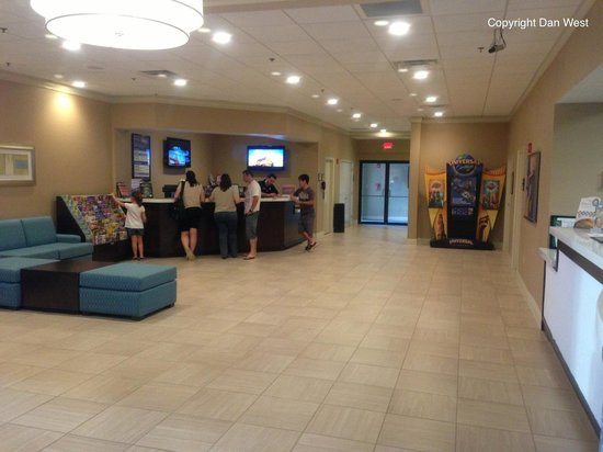 Rosen Inn International: Lobby