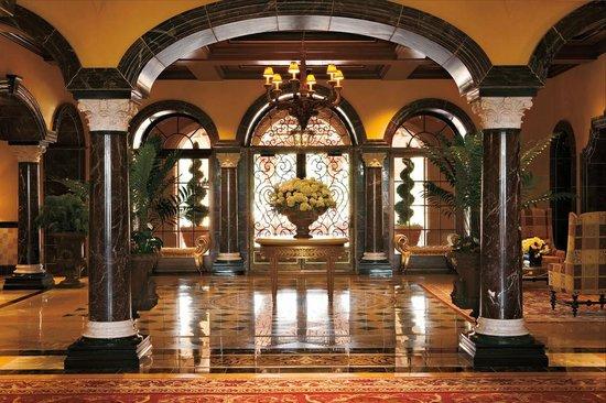 Lobby at Fairmont Grand Del Mar