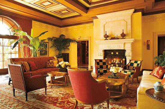 Lobby Sitting Area at Fairmont Grand Del Mar