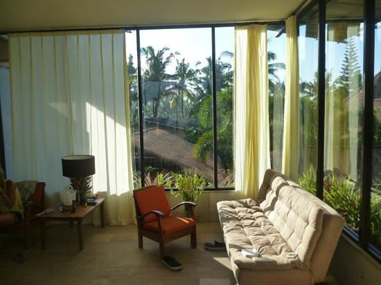 Villa Areklo: vue de la chambre