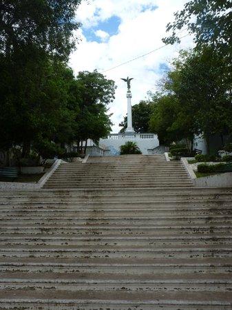 Museo de Arte Sacro: Escalinata Antequera, very near the Museum