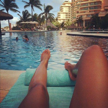 Grand Fiesta Americana Coral Beach Cancun: loved the pool