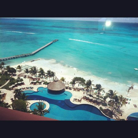 Grand Fiesta Americana Coral Beach Cancun: my view from balcony
