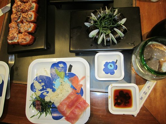 Saku Sushi & Bar: assorted sushi