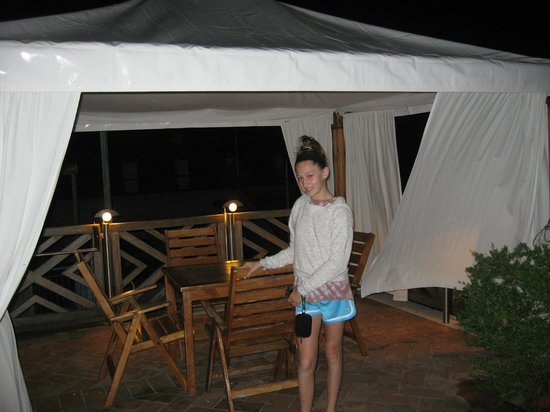 Hotel Saturnia & International: roof top area 