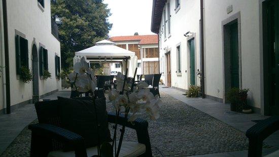 Casa Orter: Near the enter at hte reception