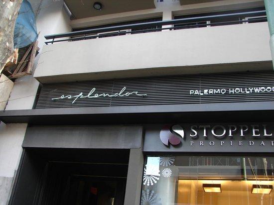 Esplendor Palermo Hollywood: Fachada