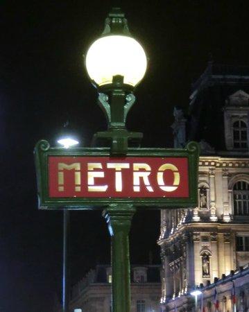 Closest Metro Stop to Hotel Duo (Hotel de Ville)