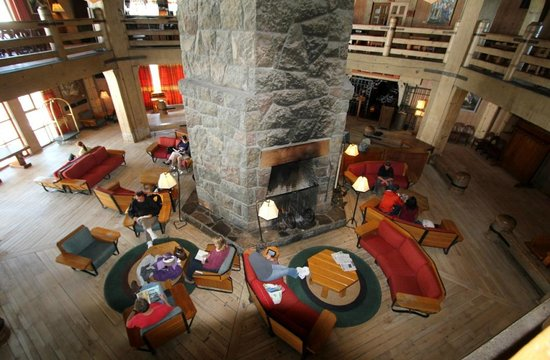 Timberline Lodge's Main Lobby