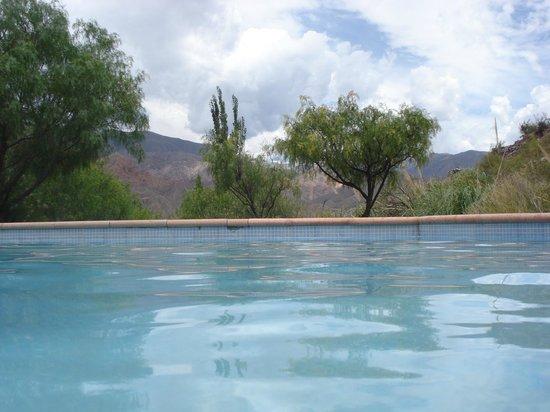 Cerro Chico: Linda piscina con una increíble vista