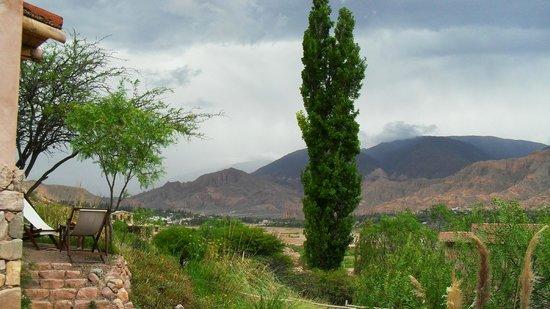 Cerro Chico: Desde la puerta de nuestra cabaña