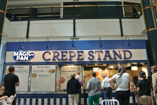 The Magic Pan Crepe Stand