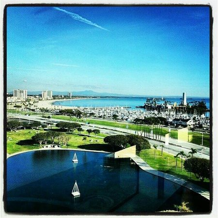 Hyatt Regency Long Beach: View from the room - 15th floor
