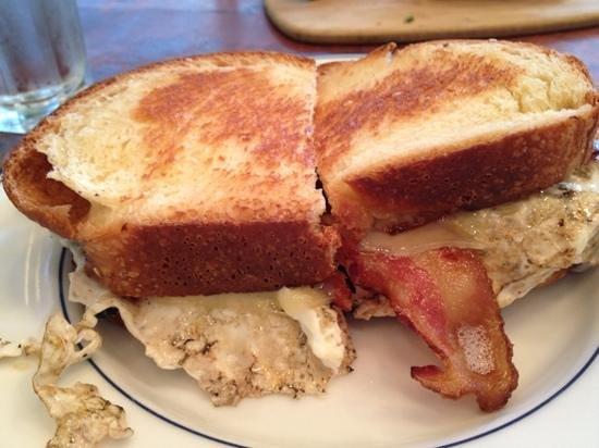 Tatte Cambridge: breakfast sandwich