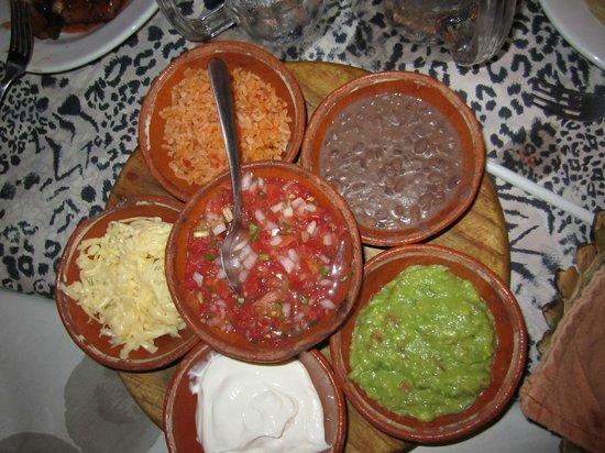 Fajita Republic: Fajita toppings
