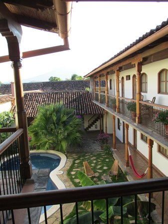 Hotel Patio del Malinche: View from my room