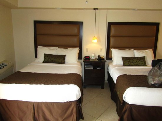 BEST WESTERN PLUS Beach Resort: 2 double beds