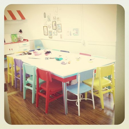 The Little Old House of Make Believe: Craft/Activity room