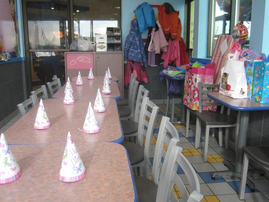 McDonald's: The Birthday room